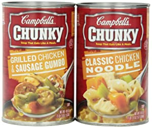 Campbell's Chunky Variety Pack, 18.6 oz. Can (Pack of 6)