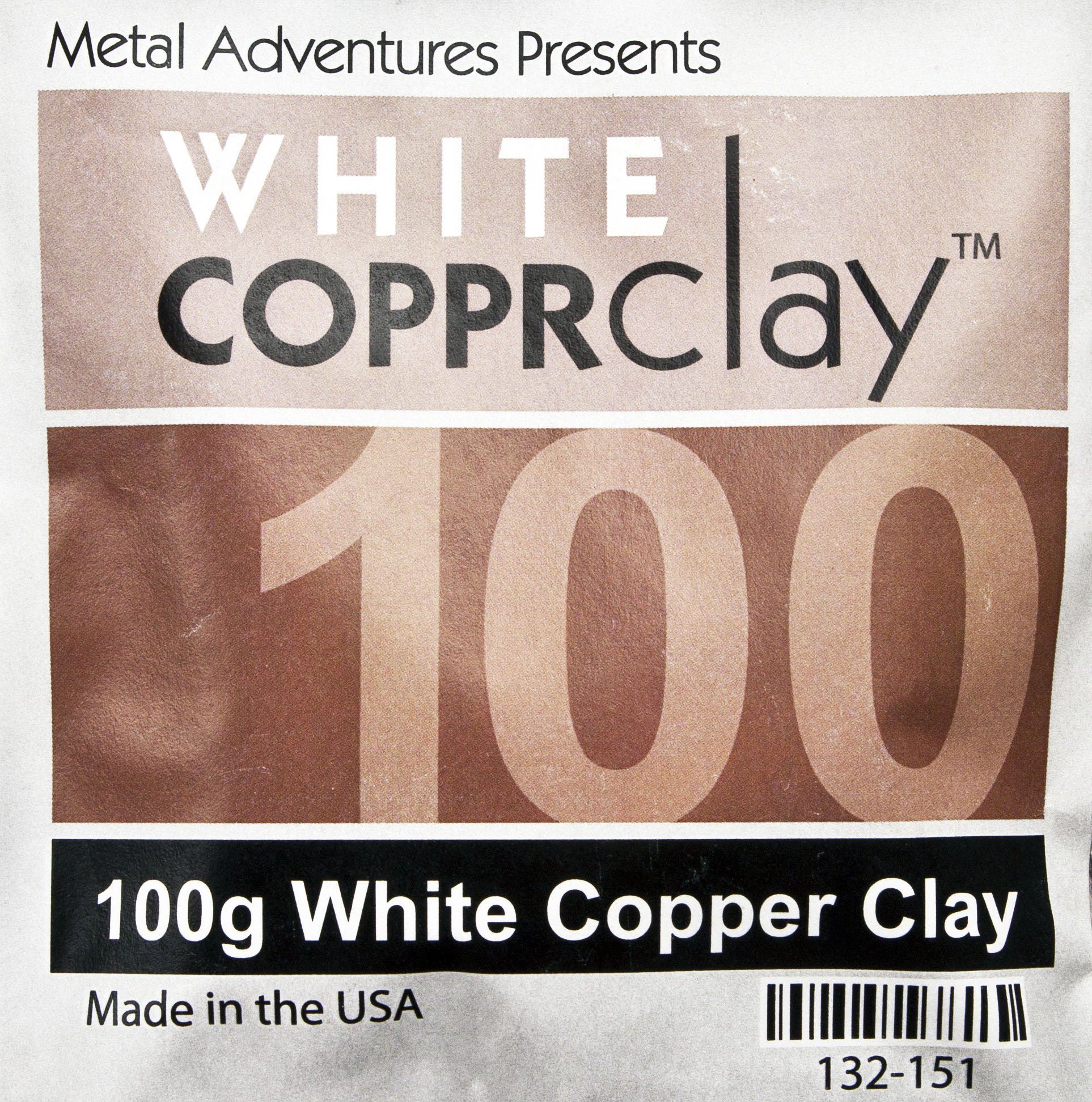 White COPPRclay 100 Gm