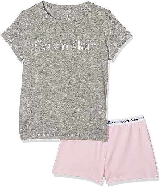 Calvin Klein Modern Cotton Knit Pj Set (s/s+Short), Conjunto