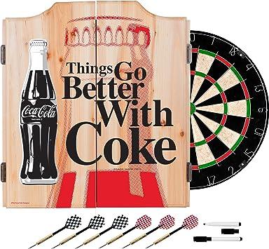 Trademark Gameroom Coca-Cola Gravur Dreieck Billard Ball Rack