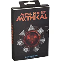 Q Workshop Mythical - Juego de Dados de Metal