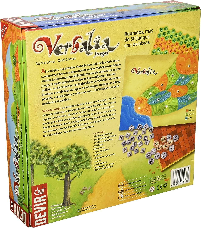 Devir Juego Verbalia (Castellano)  N11: Amazon.es: Juguetes y juegos