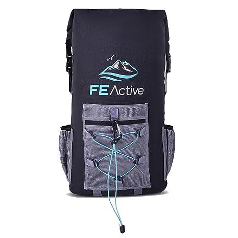 FE Active – Mochila refrigerante impermeable de 35 L, insolacion de EVA, sin BPA, aprobado por FDA, bolsa enfriadora térmica para picnic, nevera de ...