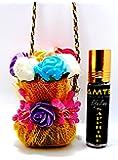 Pamtek Hanging Organic Car Air freshener & Perfume with 1-Year Life (Sapphire)