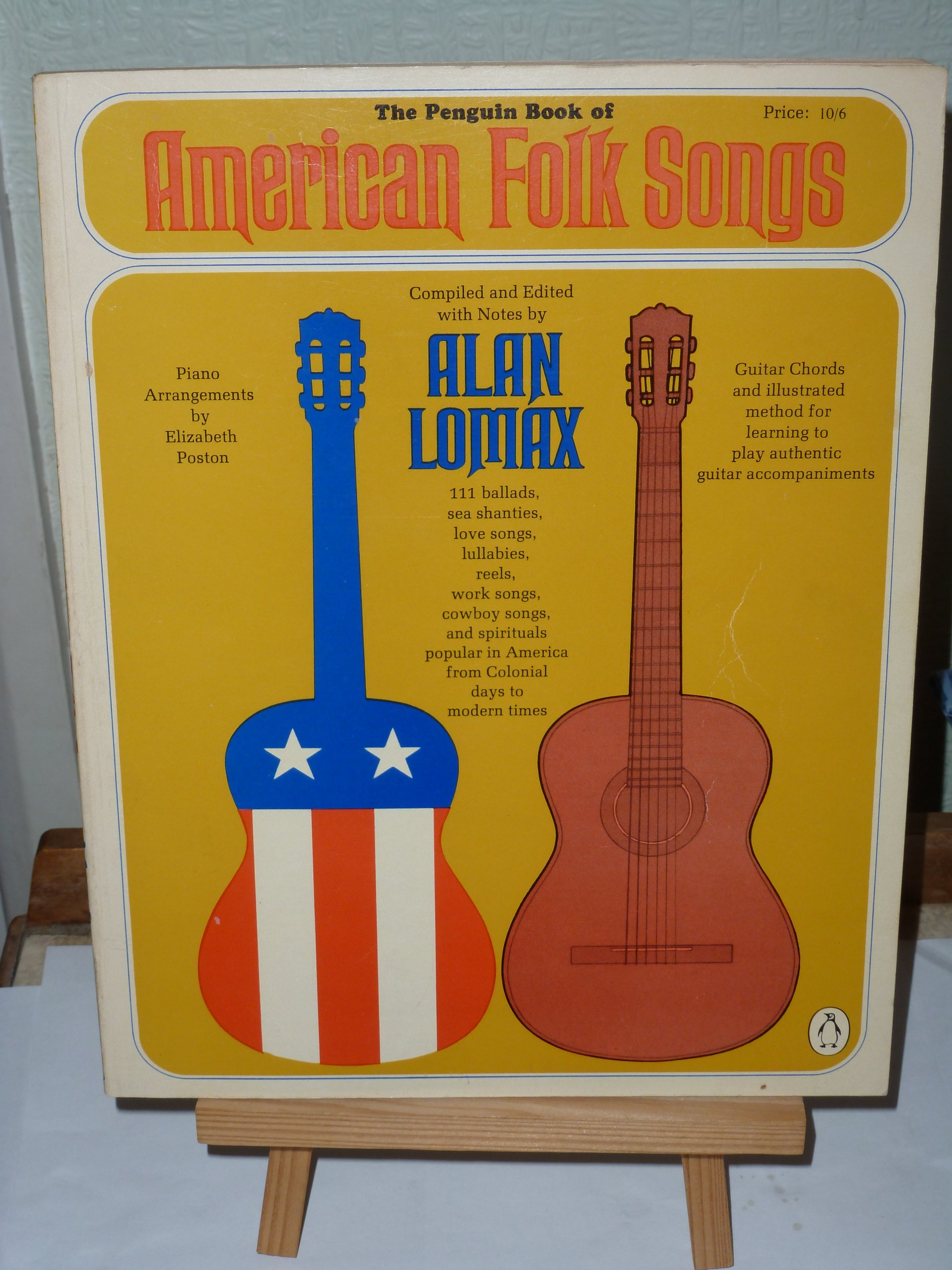 The Penguin Book Of American Folk Songs Reprint Alan Lomax