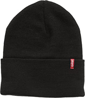 e4f483e9a Levi's Men's Batwing Embroidered Slouchy Beanie: Amazon.co.uk ...