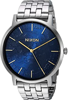 Nixon Mens Porter Quartz Stainless Steel Casual Watch, Color Gold-Toned (