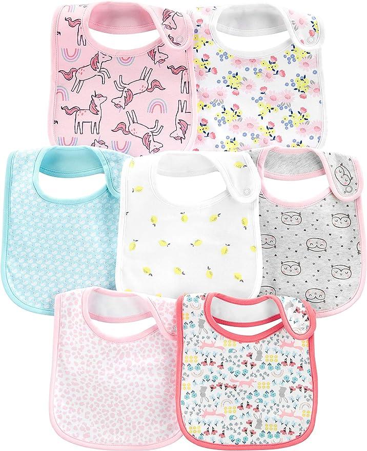 Bibs for Girls Dignity Bib Girls Toddler Bib Pink Polkadot Bib Large Bibs Special Needs Bib