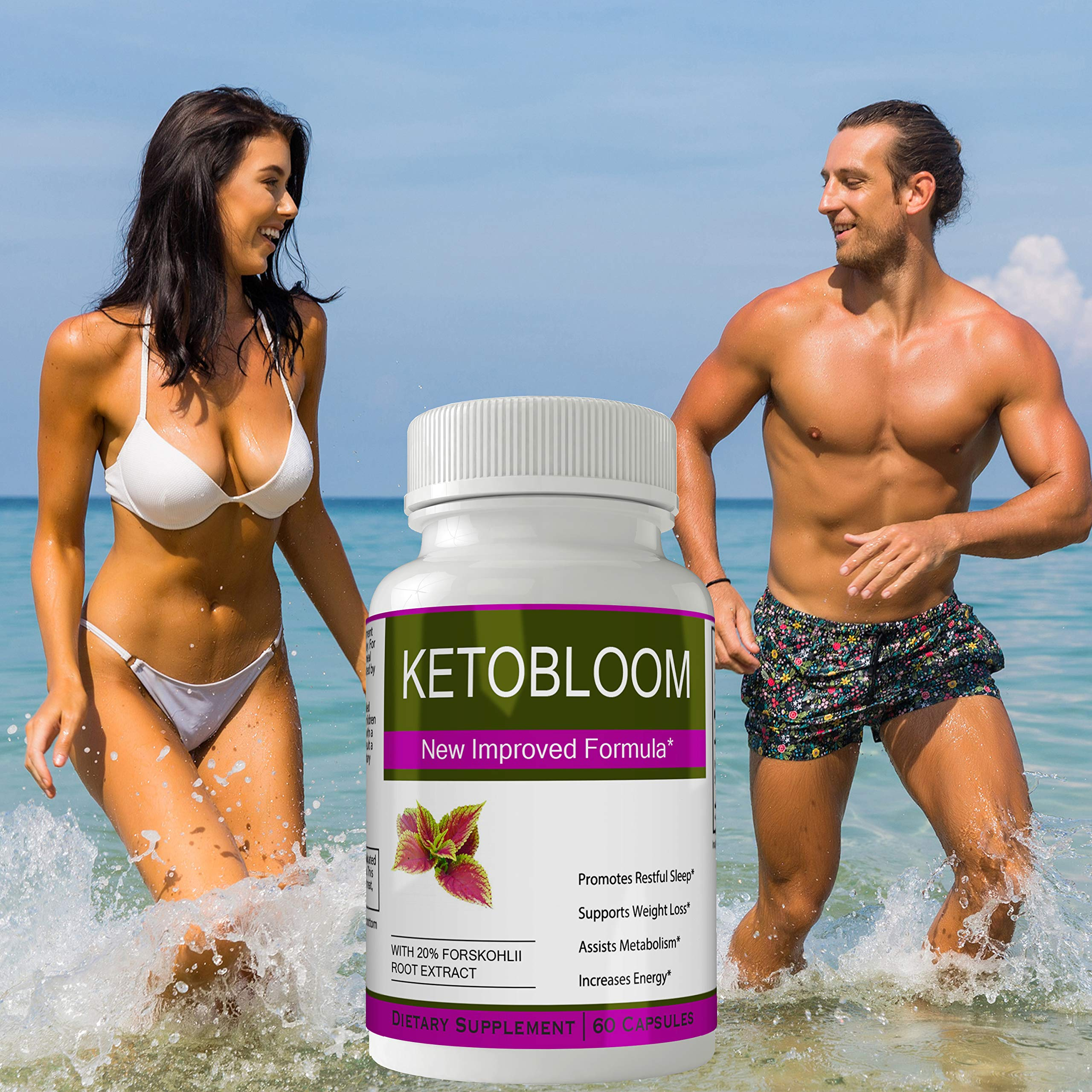 Ketobloom Forskolin for Weight Loss Diet Pills Supplement Capsules with Premium Forskolin Extract Tablets   Keto Bloom High Quality Natural Weightloss by nutra4health LLC (Image #4)