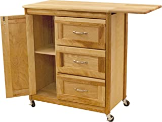 product image for Catskill Craftsmen Drawer Cart with Side Drop Leaf