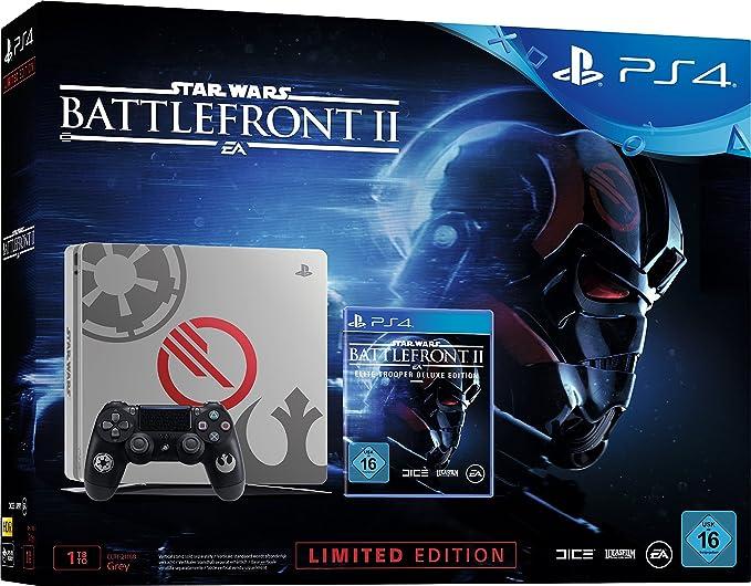 PlayStation 4 (PS4) - Consola 1 TB + Star Wars Battlefront - Edición Especial: Sony: Amazon.es: Videojuegos