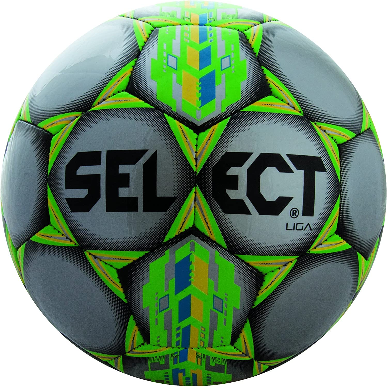 Seleccione Deporte América Select Sport Liga – Balón de fútbol, Color Plateado – tamaño 4 Liga – Balón de fútbol: Amazon.es: Deportes y aire libre