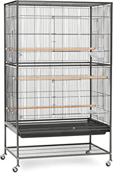 1 - Prevue Hendryx Pet Products Wrought Iron Flight Cage