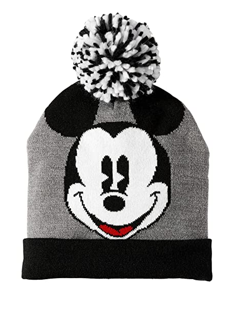 35d1a9e2e80b8c Amazon.com: Toddler Mickey Beanie Hat Intarsia Knit Unisex Girls Boys Kids  Winter: Clothing