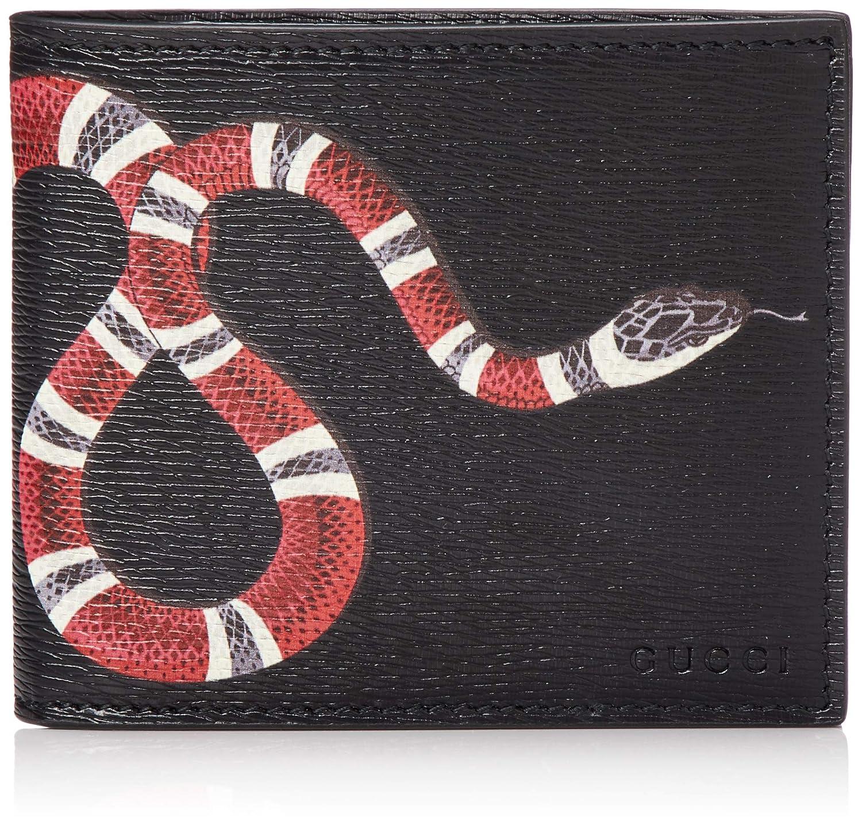 [グッチ] 財布 メンズ GUCCI BESTIARY M 二つ折りウォレット 並行輸入品 [並行輸入品] B07G5D56K3 NERO MULTI