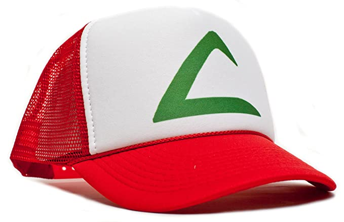Amazon.com  Pokemon Ash Ketchum Unisex-adult Trucker Hat -One-size ... 37904f157b3