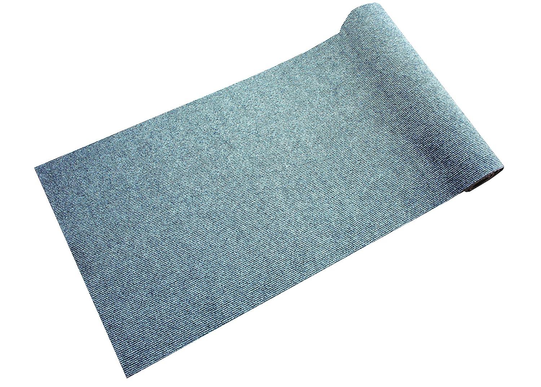 Dandy Stayfast Hardwearing Extra Long Anti-Slip Hall Runner, Polypropylene, Grey, 300 x 66 x 1 cm William Armes 5683504