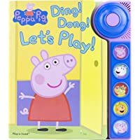 Peppa Pig Ding! Dong! Let's Play! Sound Book - Play-a-Sound - PI Kids