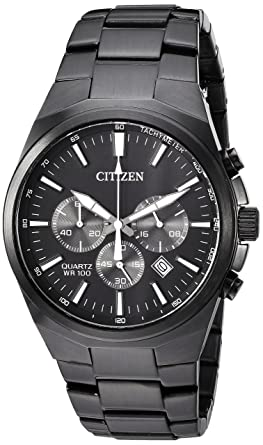 8776b74ac Image Unavailable. Image not available for. Color: Citizen Men's ' Quartz  Stainless Steel Casual Watch ...
