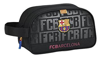Futbol Club Barcelona - Neceser con asa Adaptable a Carro Color Negro (SAFTA 811725248)