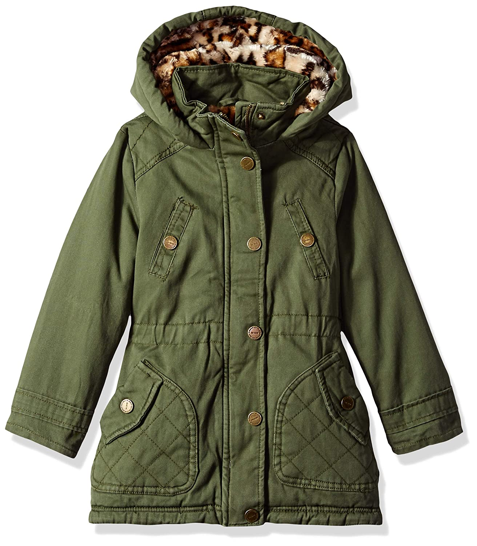 Cotton Twill Lightweight Jacket with Cinched Waist Urban Republic Girls Spring Fashion Jacket