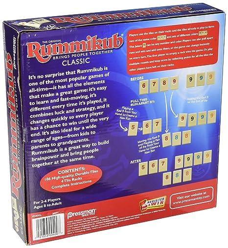 Amazon Pressman 0400 04 Original Rummikub Game Toys Games