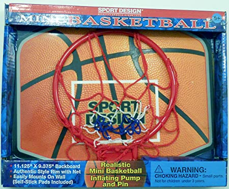 Sport Design Over The Door Basketball Instructions sport design over the door basketball instructions astonishing spalding nba breakaway 180 13 Amazoncom Mini Basketball Hoop With Inflatable Basketball Inflating Pump Pin Toys Games