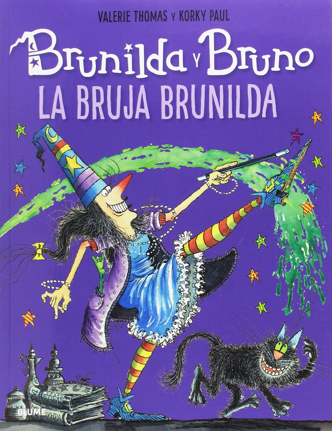 Brunilda y Bruno. La bruja Brunilda: Amazon.es: Thomas, Valerie, Paul, Korky, Rodríguez Fischer, Cristina, Diéguez Diéguez, Remedios: Libros