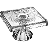 Godinger Freedom Small Footed Cake Plate