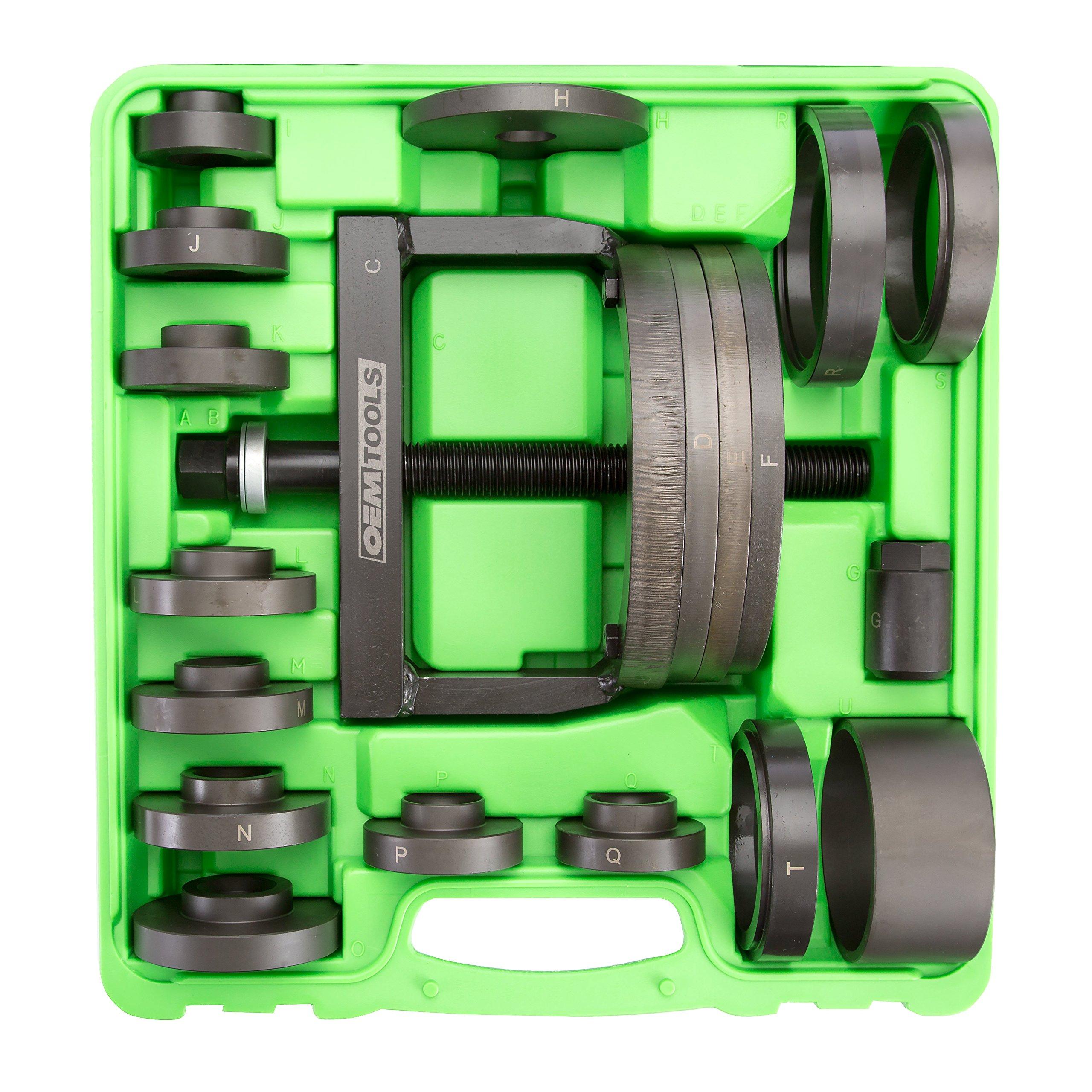 OEMTOOLS 27213 Master Wheel Hub & Bearing Remover & Installer Kit,
