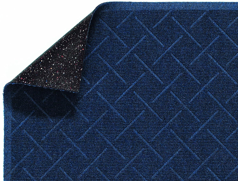 Andersen 2202 Indigo PET Polyester Enviro Plus Diamondweave Mat For Interior 4 Length x 3 Width