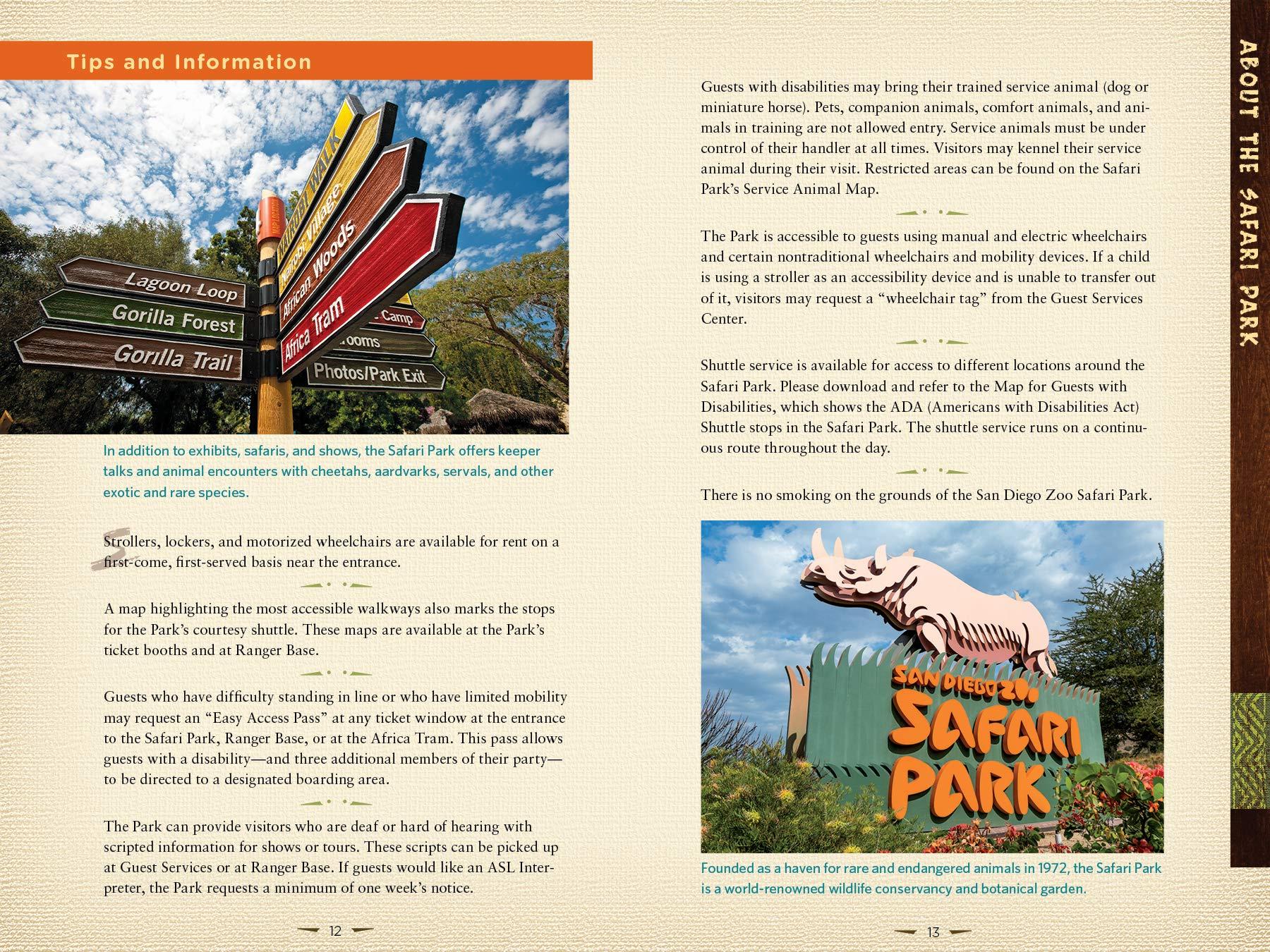 San Diego Zoo Safari Park Guidebook: San Diego Zoo Global