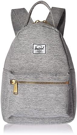 e0b613365bf Herschel Nova Mini Backpack Light Grey Crosshatch One Size