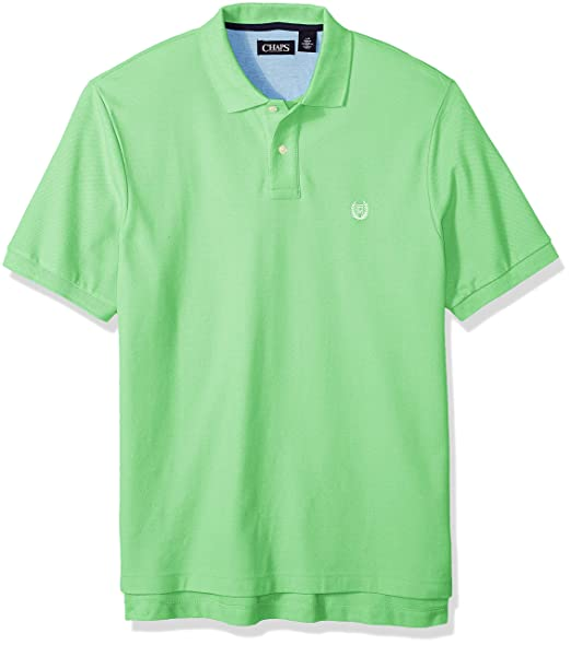 a3f71a13 Chaps Men's Classic Fit Cotton Mesh Polo Shirt