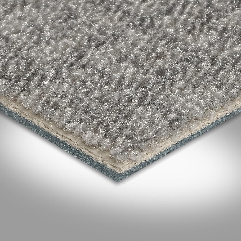 400 und 500 cm Breite Meterware hell-grau Schlinge gemustert Gr/ö/ße: 1 Muster verschiedene Gr/ö/ßen Teppichboden Auslegware