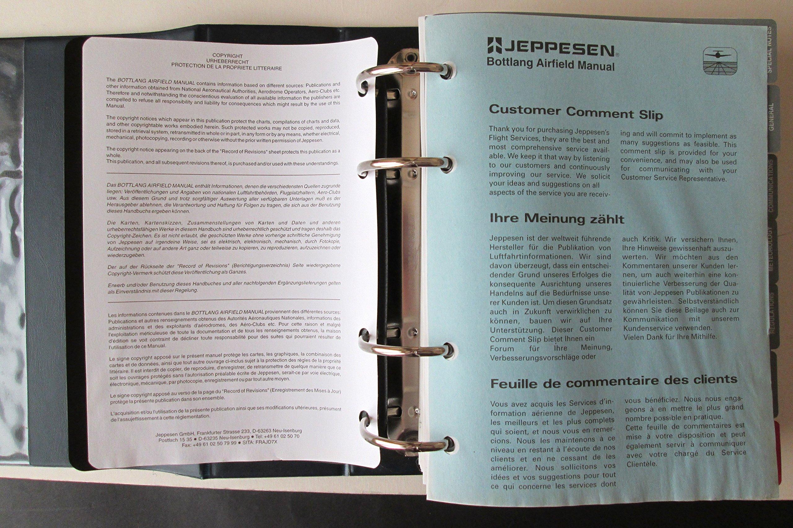 Jeppesen Bottlang Airfield Manual: Amazon.co.uk: Jeppesen: Books
