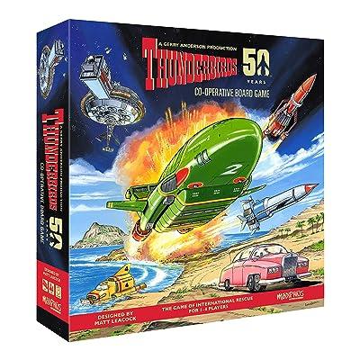 Thunderbirds Co-operative Board Game: Toys & Games