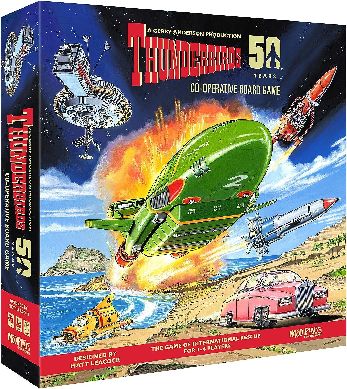 Thunderbirds Licensed Co-Operative Board Game: Modiphius Entertainment: Amazon.es: Juguetes y juegos
