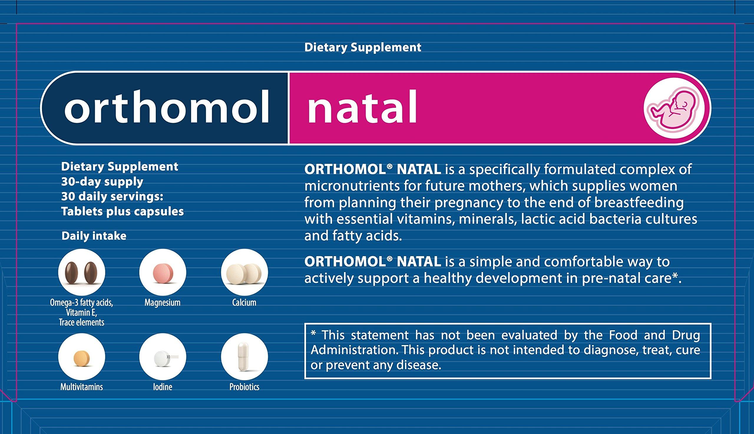 Original Orthomol® Natal - Tablets Plus Capsule