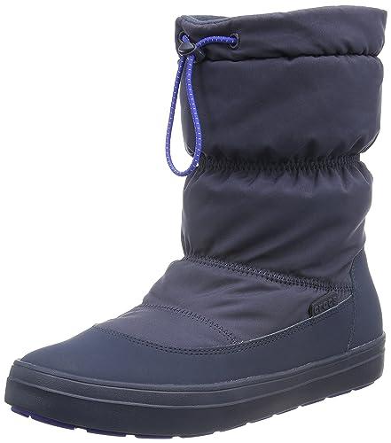Crocs LodgePoint Pull-on Boot Women, Femme Bottes, Noir (Black), 38-39 EU