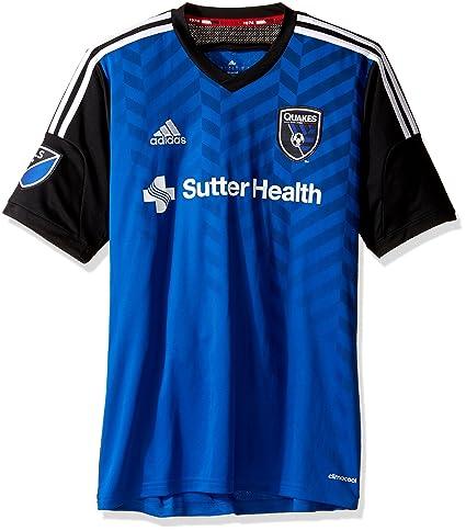 4e8cba6fa Amazon.com   adidas MLS Mens Replica Short Sleeve Jersey   Sports ...