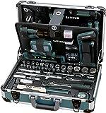Valise en aluminium SATINUM by KRAFTWERK haute qualité de 176 outils GARANTIE A VIE SAT111