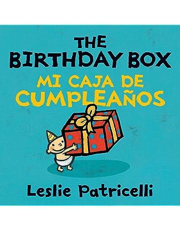 The Birthday Box Mi Caja De Cumpleanos (Leslie Patricelli Board Books) (Spanish Edition