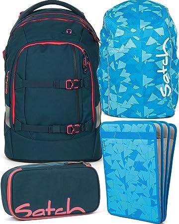 2a5da4d687293 satch pack Pink Phantom 4er Set Schulrucksack