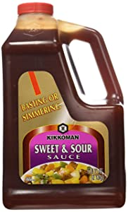 4Lb 11oz Kikkoman Sweet & Sour Sauce, Great for Basting or Simmering