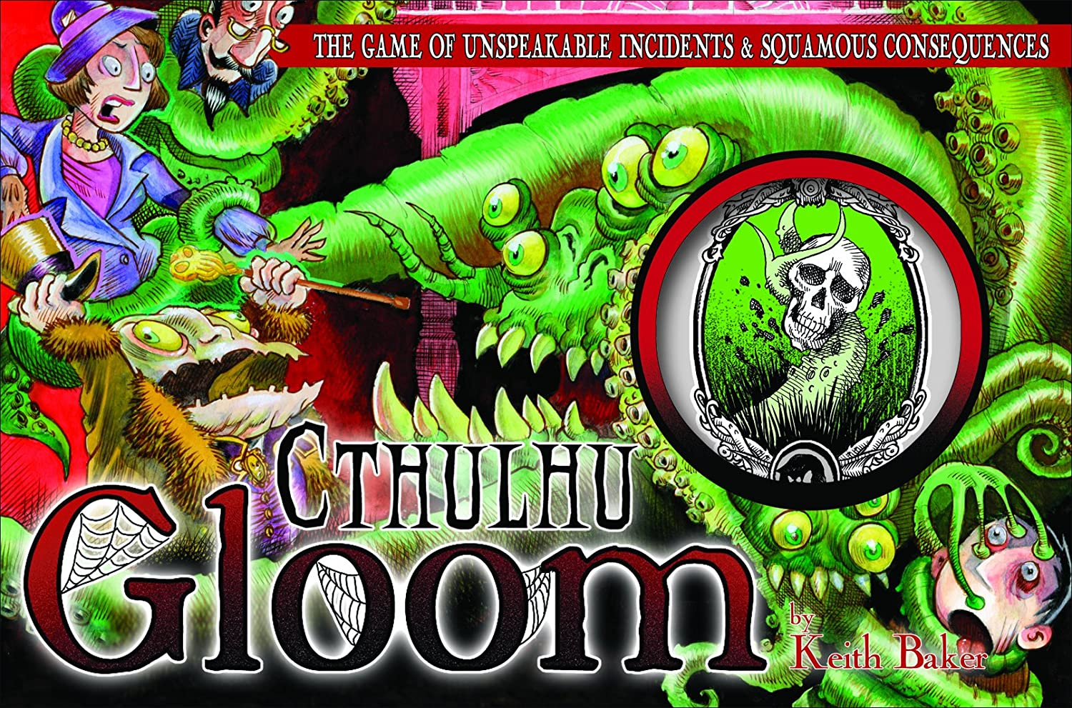 Cthulhu Gloom Card Game - Set de Inicio de Cartas (Atlas Games ...