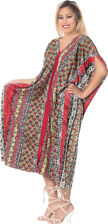 LA LEELA Largo De La De del Verano De Las Mujeres del Verano Que Cubre La Cubierta Superior De La Rebeca del sólida Kimono Llanura del MantóN De Algodón
