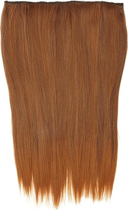 Biya Thermatt Elementos del pelo Extensiones del pelo clip-Dip suave tinte de color Número 4T30 46 cm 80 g