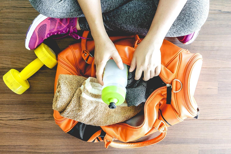 le football Qualit/é sup/érieure Utilisation universelle pour la gym femmes et enfants Bandouli/ère avec mousqueton Sac de sport Projects /« Basic /» en polyester 600D le sauna le fitness Pour hommes