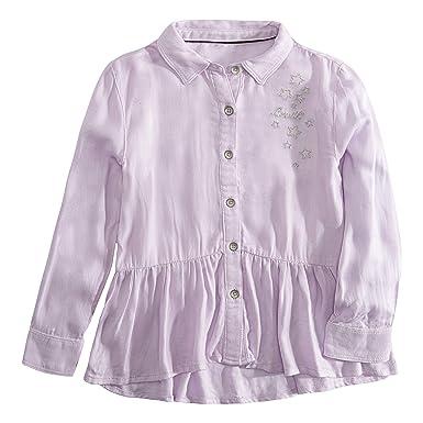 9bf5d2f051f4f5 Amazon.com: Levi's Girls' Big Long Sleeve Button Up Shirt, Lavender ...